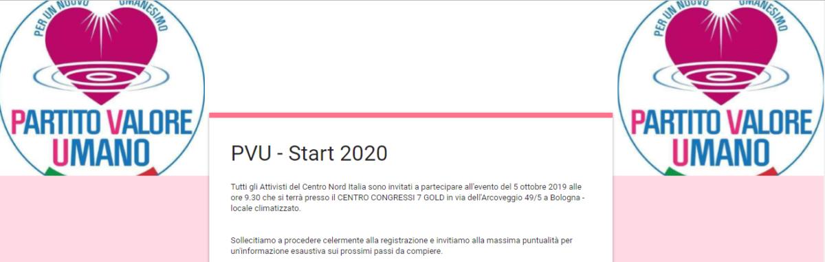 Maurizio Sarlo – PVU…e Scuola di Formazione…Binomio vincente!