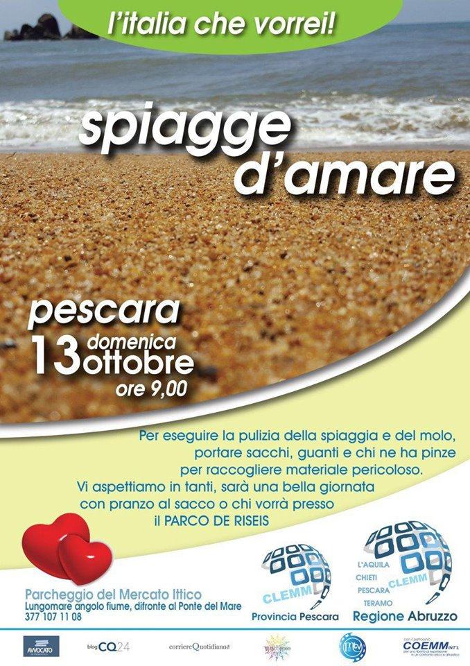 L'Italia che vorrei! – Spiagge d'amare