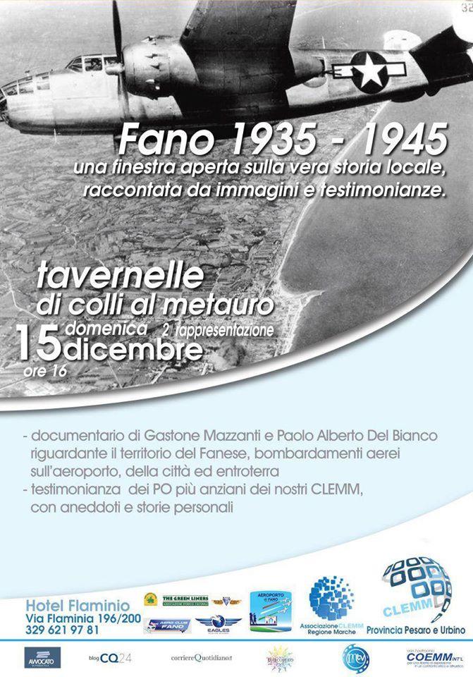 Fano 1935 – 1945
