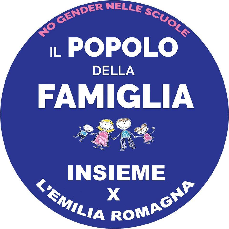 """La lista """"Il Popolo della Famiglia – insieme per l'Emilia Romagna"""""""