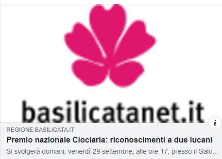 PREMIO NAZIONALE CIOCIARIA. Di rilievo il riconoscimento al dottor Maurizio Sarlo