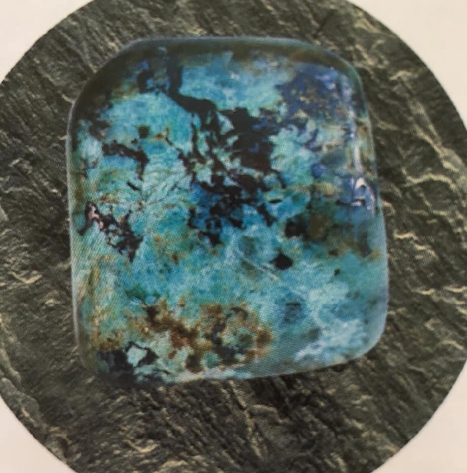 Maura Luperto – Riflessioni – La magia delle pietre TURCHESE AFRICANA