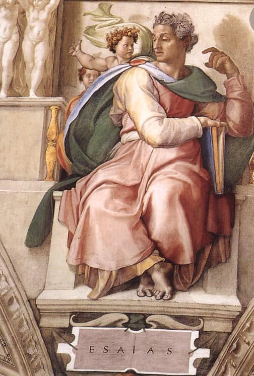 Maura Luperto – Riflessioni – Isaia, 11.6