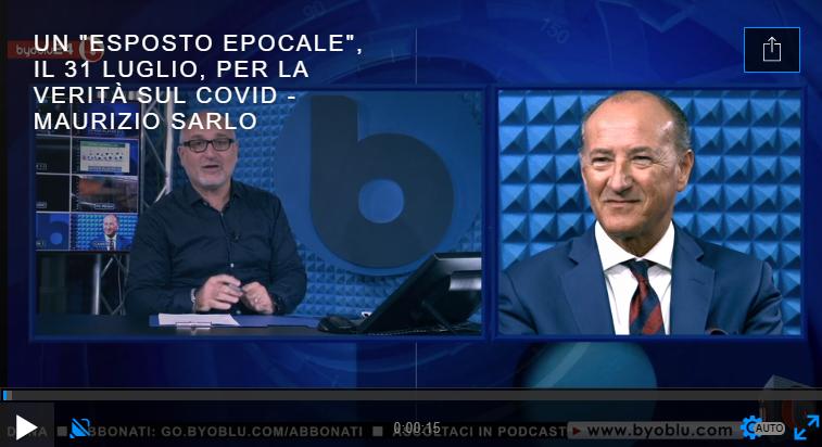 """UN """"ESPOSTO EPOCALE"""", IL 31 LUGLIO, PER LA VERITÀ SUL COVID – Maurizio Sarlo"""