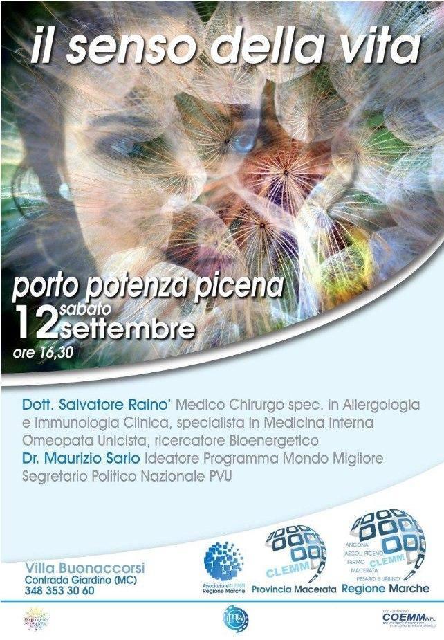 , Il senso della Vita – Porto Potenza Picena –  Provincia di Macerata, COEMM