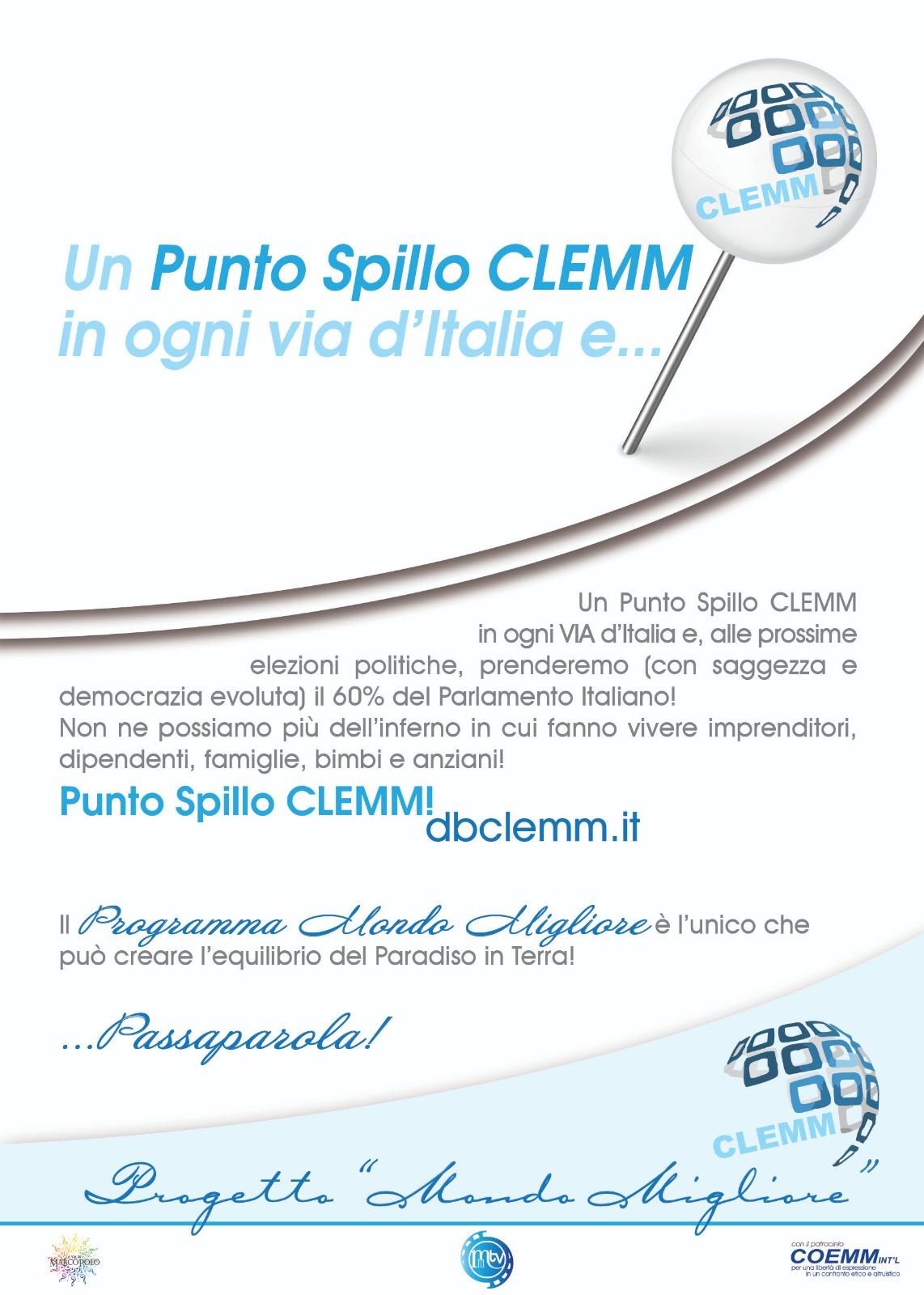 ZTL CLEMM del Venerdì …. 27/11/2020 ore 21:00 Tema: La Banca Centrale del Tempo Compiuto ( BCTC) e le altre Piattaforme del Pianeta COEMM e CLEMM!