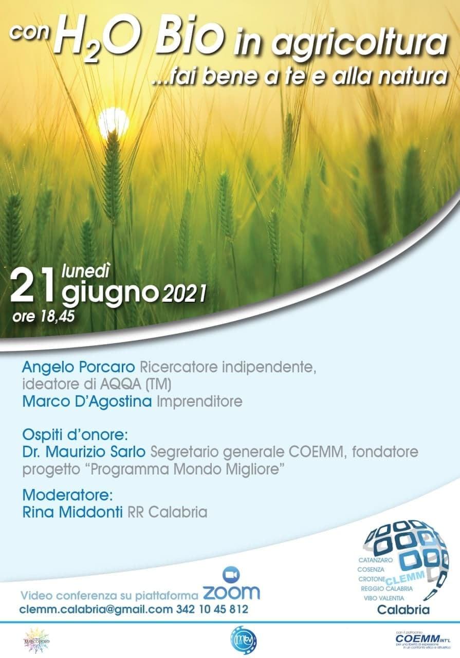 , 🌐 Con H2 -0 Bio in Agricoltura …fai bene a te e alla natura 🌐, COEMM